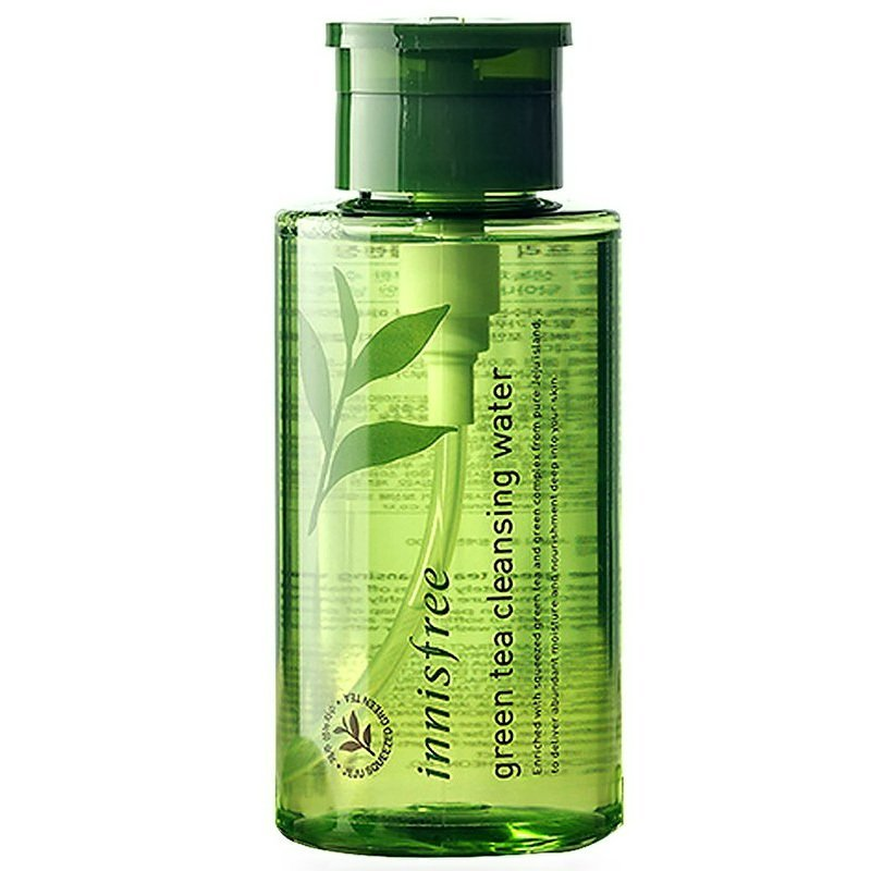 Вода очищающая INNISFREE Green Tea Cleansing Water, 300 мл в интернет-магазине Etomarta.com