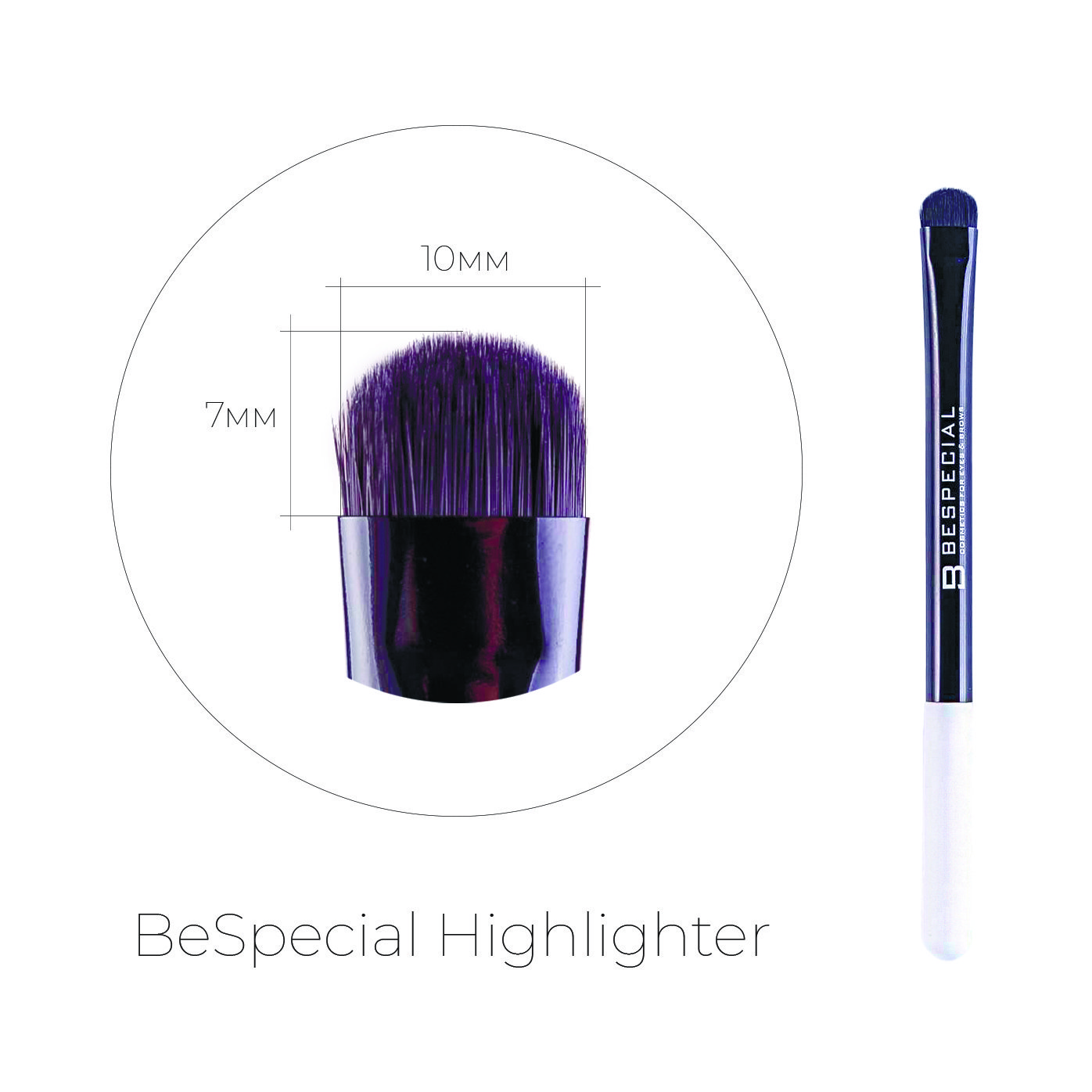 Кисть для бровей BeSpecial Highlighter в интернет-магазине Etomarta.com
